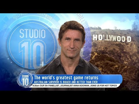 Jonathan LaPaglia Talks Australian Survivor 2017  Studio 10