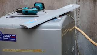 repairs washing machine (sửa máy giặt sanyo báo lỗi U4) (SỬA MÁY GIẶT QUẬN THỦ ĐỨC) 0984567565