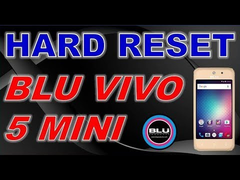 Hard Reset BLU Vivo 6 V0110EE - HardReset info