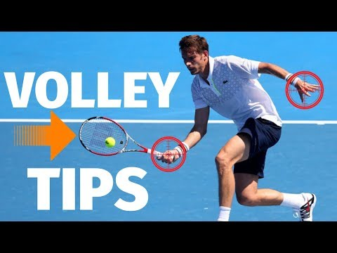 Tennis Volley Technique  - How To Volley Like A Pro