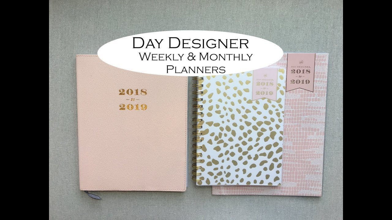 photograph regarding Day Designer Planners known as Working day Designer -Weekly Month-to-month Planners!