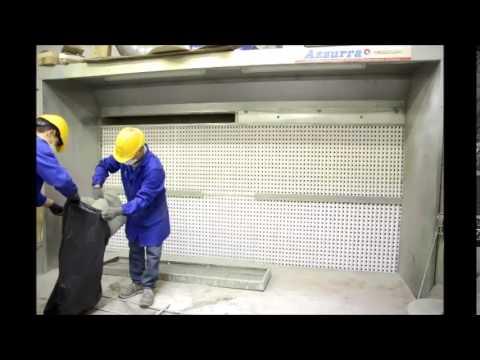 La sostituzione del filtro paint stop nei cassetti della for Affitti della cabina di whistler