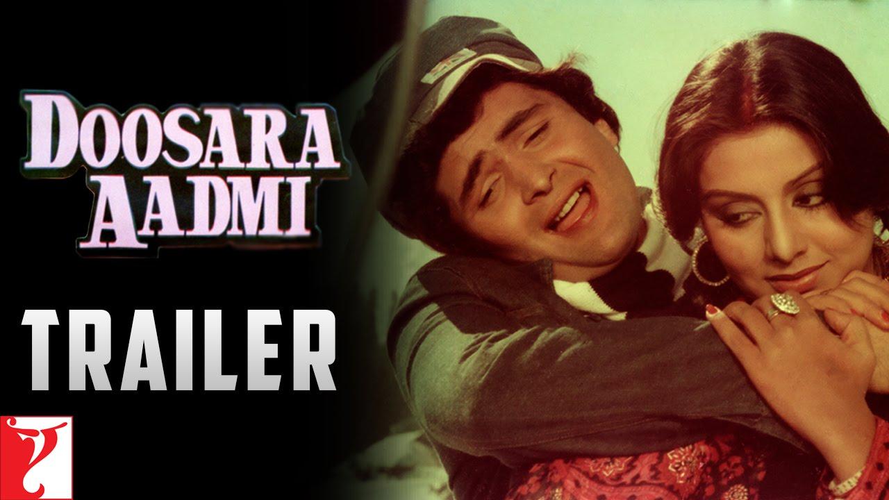 Download Doosara Aadmi   Official Trailer   Rishi Kapoor, Neetu, Rakhee   Ramesh Talwar   Old Movie Trailer