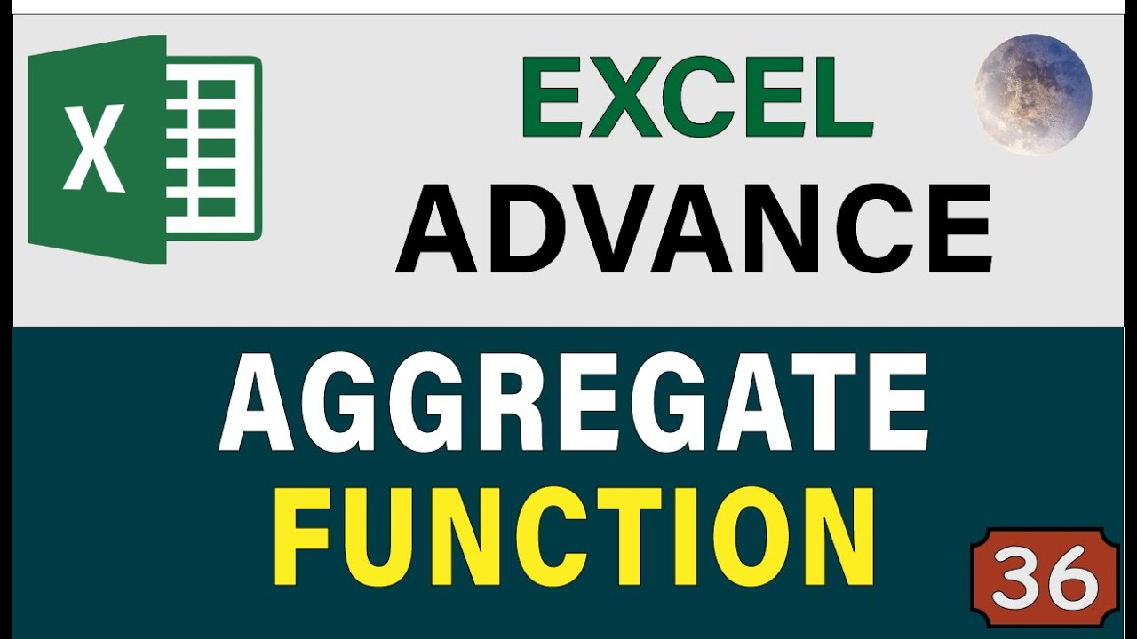 Excel Aggregate Function & Formula Excel Tips & Tricks , Advanced Excel  Data Analysis 20