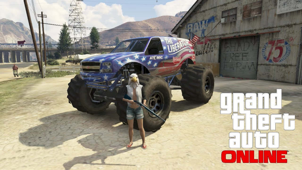 gta 5 independence day update all cars firework guns