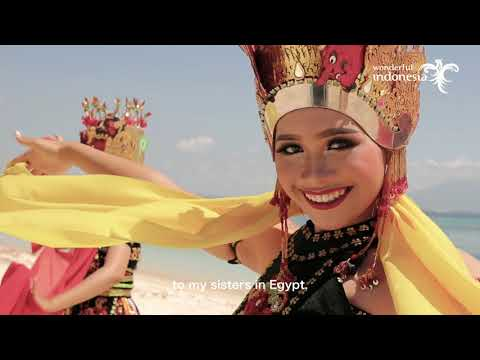 Wonderful Indonesia Miss Eco International 2018