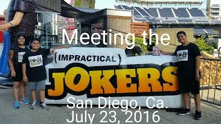 Video Meeting the Impractical Jokers!!! download MP3, 3GP, MP4, WEBM, AVI, FLV Juni 2018