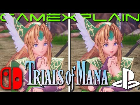 Trials of Mana Graphics & Load Times Comparison (Nintendo Switch vs. PS4)