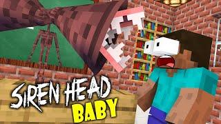 Monster School : BABY SIREN HEAD NEW EPISODE - Funny Minecraft Animation