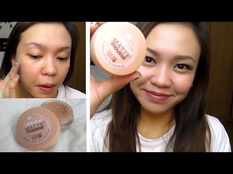 Maybelline Dream Matte Mousse Foundation First Impression Review