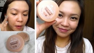 Maybelline Dream Matte Mousse Foundation First Impression Review | TAGALOG