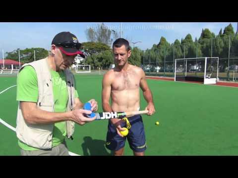 Jamie Dwyer Stick Selection. How To Chose A Hockey Stick