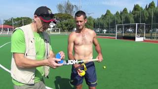 Jamie Dwyer Stick Selection. How to chose a hockey stick