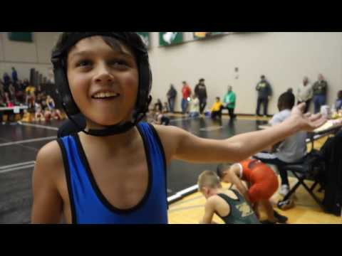 Lucas Parietti highlights -- 8-year olds 1st-year wrestlers tournament Dec 2016