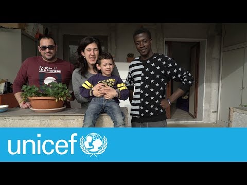 The Italian family who rescued a 16-year-old migrant | UNICEF