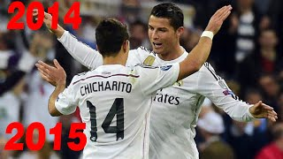 Chicharito 9 goals from Real Madrid 2014/2015 1080i