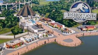 BUILDING JURASSIC WORLD!!! - Jurassic World Evolution FULL PLAYTHROUGH | Ep37HD