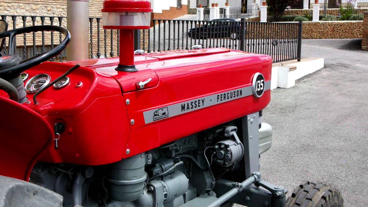 Tractor Massey Ferguson 35 Kit Completo De Montaje Tubo de fuga