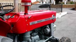 restauración tractor massey ferguson 135