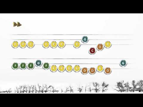 Jingle Bells 1 - Handbells Playalong