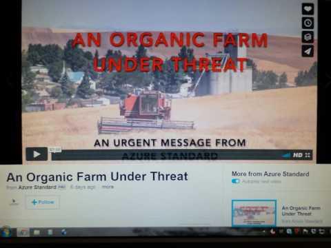 MONSANTO against ORGANIC FARMER - ACTION HELP!