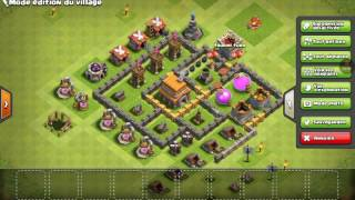 Clash of clans defi amical
