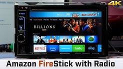 Amazon Fire TV Stick with Car Stereo!