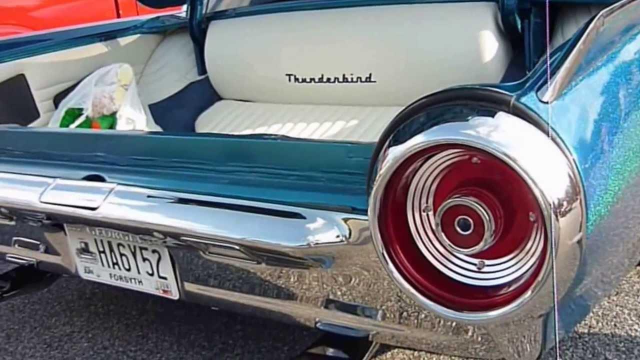 1963 ford thunderbird kustom youtube