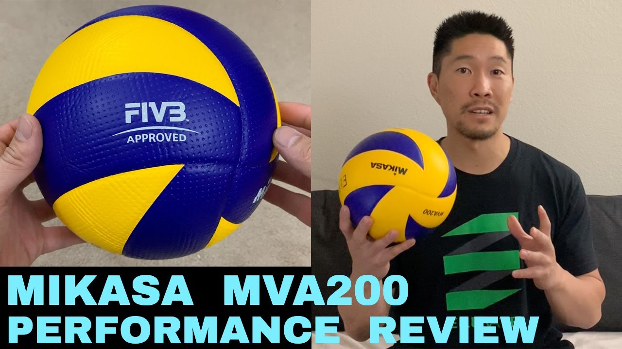 Mikasa Mva200 Volleyball Performance Review Youtube