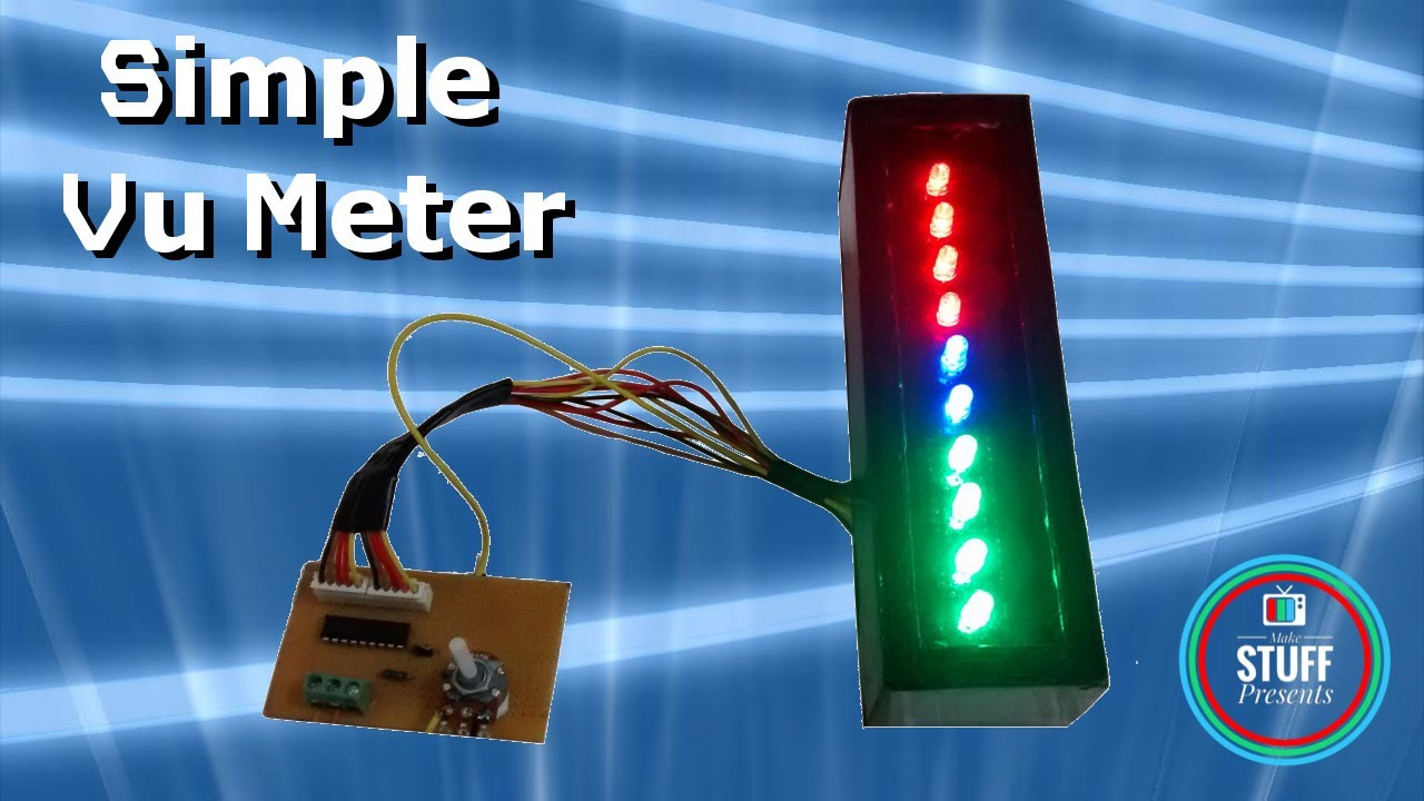 Led Audio Indicator Circuit