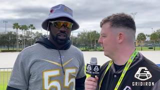 CHANDLER JONES | AZ | SPEAKS TO US AT THE 2020 PRO BOWL