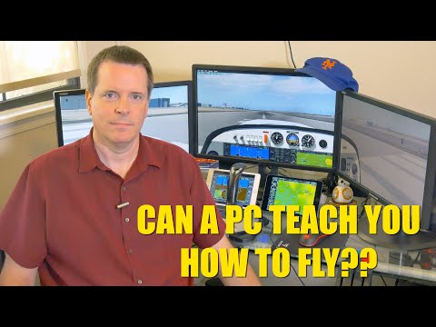 Can a PC flight sim teach you how to fly? Now with X-Plane!