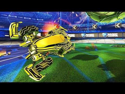 USING THE NEW CAR IN RANKED! | ROCKET LEAGUE