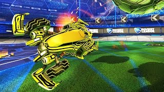 One of Jon Sandman's most viewed videos: USING THE NEW CAR IN RANKED! | ROCKET LEAGUE