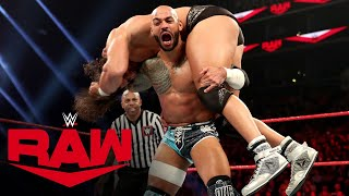 Riddick Moss vs. Ricochet – 24/7 Title Match: Raw, March 2, 2020