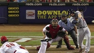 STL@CIN: Kozma hammers a two-run double to left field
