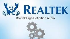 Cómo Descargar-Instalar Driver Realtek HD Audio Para Windows 10/8/8.1/XP   32 & 64 Bits   2019