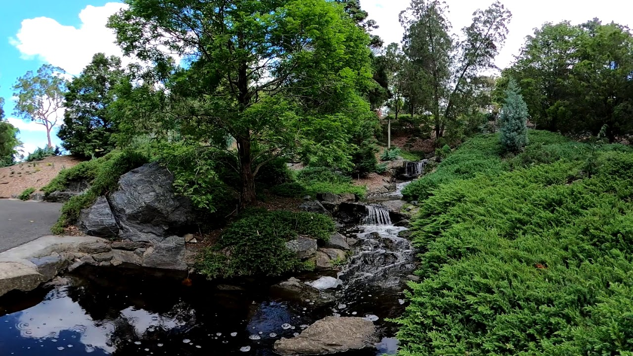 3rd Garden Waterfall In Virtual Reality Mt Coot Tha Botanical Gardens 360vr Brisbane Australia Youtube