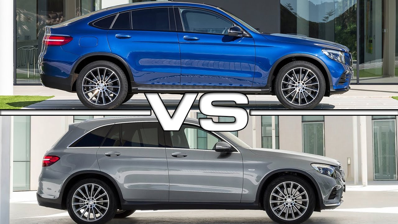 mercedes glc coupe vs mercedes glc road test youtube. Black Bedroom Furniture Sets. Home Design Ideas