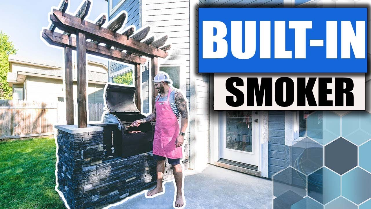 diy outdoor kitchen built in grill station