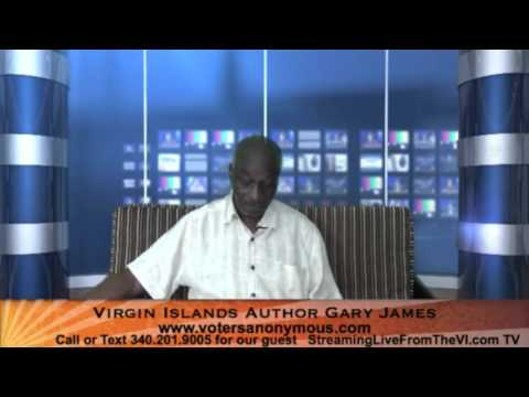 Virgin Islands Author Gary James | www.votersanonymous.com | 4.21.16