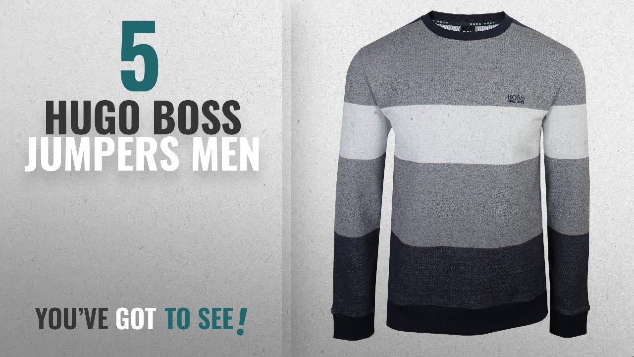 cb27a5bb Top 10 Hugo Boss Jumpers Men [2018]: Hugo Boss Men's Nautical ...