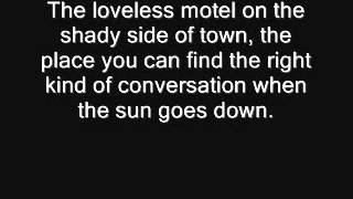 R.C.  bannon loveless motel lyrics