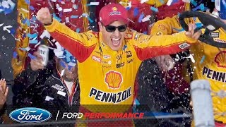 Joey Logano Wins the First Data 500 at Martinsville   Ford Performance