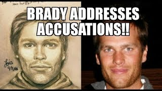 Tom Brady Addresses Accusations That He Threatened Stormy Daniels