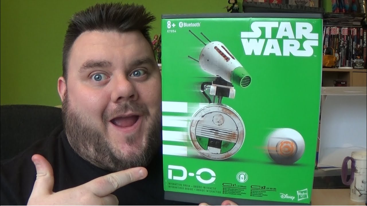 D O Star Wars Rise Of Skywalker Interactive Droid Hasbro Toy Unboxing Youtube