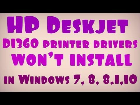 IMPRESSORA DESKJET 7 BAIXAR HP DRIVER WINDOWS D1360