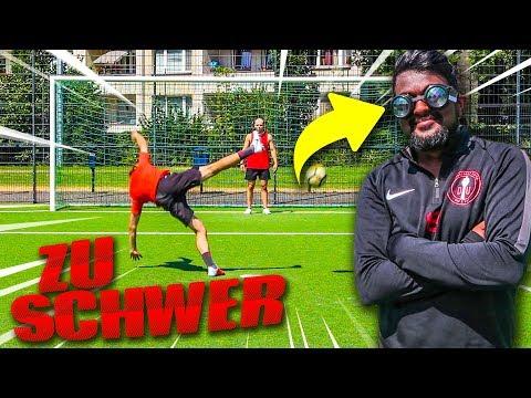 SCHWIERIGSTE VOLLEY FUßBALL CHALLENGE !!