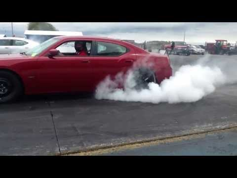 RED Dodge charger RT Supercharged stock motor Vs SILVER Charger 426 Stroker