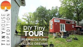 Single Mom Builds Tiny House With Permaculture Village Dream